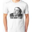 Nicolas Cage Meme Unisex T-Shirt
