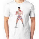 Rocky Balboa From Rocky Typography Quote Design Unisex T-Shirt