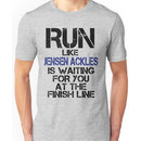 Run Like Jensen Ackles is Waiting Unisex T-Shirt