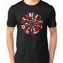 White Stripes Whirlpool Unisex T-Shirt