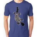 Authentic Aboriginal Art - Platypus Unisex T-Shirt