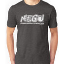 "Jessie Rees Foundation ""NEGU"" in White Unisex T-Shirt"