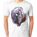 Romantic Jack Skellington and Sally Unisex T-Shirt