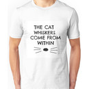 Dan and Phil Cat Whiskers Notebook Unisex T-Shirt