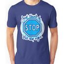 Undertale Blue Stop Signs Unisex T-Shirt