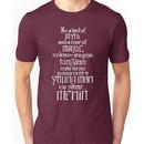 In a Land of Myth... Merlin (white) Unisex T-Shirt