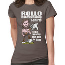 Rollo hates (White text) Women's T-Shirt