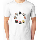 Teen Wolf Pack Graphic (Circles Only Version) Unisex T-Shirt
