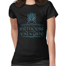 My mother didn't raise a princess, she trained a valkyrie Women's T-Shirt