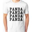 Panda Panda Desiigner - Black Text Unisex T-Shirt
