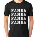 Panda Panda Desiigner - White Text Unisex T-Shirt