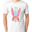 Top Seller - Louise Belcher: I Smell Fear on You (animated print) Unisex T-Shirt