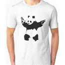 Banksy - Panda With Guns Unisex T-Shirt