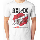 """Axl/DC """"For Rose About To Rock"""" Unisex T-Shirt"""