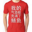 My Hovercraft is Full of Eels (in Mandarin) Unisex T-Shirt