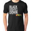 Blackhawks down - dark version Unisex T-Shirt