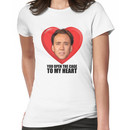Nicolas Cage - You Open the Cage to My Heart Women's T-Shirt