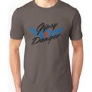 Gipsy Danger Distressed Logo in Black Unisex T-Shirt