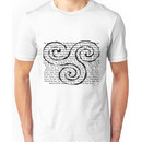 Merlin Episode Titles Triskelion Unisex T-Shirt
