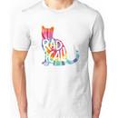 Radical Cat Tie Dye Unisex T-Shirt