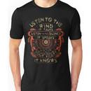 NATIVE AMERICAN LISTEN TO THE WIND IT TALKS LISTEN TO THE SILENCE IT SPEAKS LISTEN YO Unisex T-Shirt