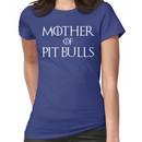 Mother of Pit Bulls Dog T Shirt Women's T-Shirt