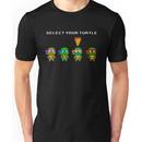 Select Your Turtle (Michelangelo) - TMNT Pixel Art Unisex T-Shirt