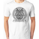 Legend of Zelda Twilight Princess Wolf Link Line Artly  Unisex T-Shirt