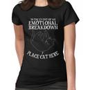 Funny cat lover gift Women's T-Shirt