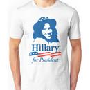 Hillary For President - Red White & Blue Unisex T-Shirt