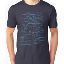 Sci-fi star map Unisex T-Shirt