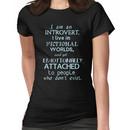 introvert, fictional worlds, fictional characters #2 Women's T-Shirt