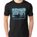 supernatural starry night sam dean winchesters  baby j2 Unisex T-Shirt