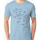 THE SILENCE IS BEHIND YOU. DON'T FORGET. Doctor Who Shirt. Unisex T-Shirt