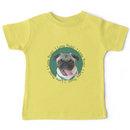 Cute I Love Pugs! T-Shirt or Hoodie Kids Clothes