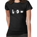 Cats, Books, and Coffee Women's T-Shirt
