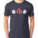 Red Sox barbell shirt Unisex T-Shirt