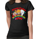 Keep Calm and Rainbow On (Dark) Women's T-Shirt