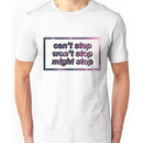 Game Grumps - Can't Stop Won't Stop Might Stop Unisex T-Shirt