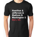 Founding Fathers & More- Hamilton Unisex T-Shirt