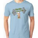 Funny Bam Bam Training The Flintstones Cartoon Unisex T-Shirt