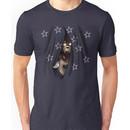 Peeking Foxy (with curtain stars) Unisex T-Shirt