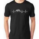 Photographer T-Shirt - Heartbeat Unisex T-Shirt