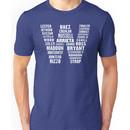 Chicago Cubs W Flag Names Shirt Unisex T-Shirt