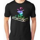 HOUSE CAT (Rainbow DJ Kitty) Unisex T-Shirt