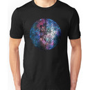 Sacred Geometry: Flower Of Life / Tree Of Life (Painted Cosmos) Unisex T-Shirt