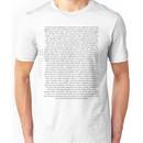 Dan's diss track lyrics Unisex T-Shirt
