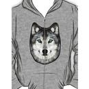 Dan Smith's Wolf hoodie Hoodie (Zipper)