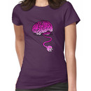 Your Brain without Coffee - Pink Women's T-Shirt