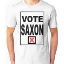 Vote Saxon Unisex T-Shirt